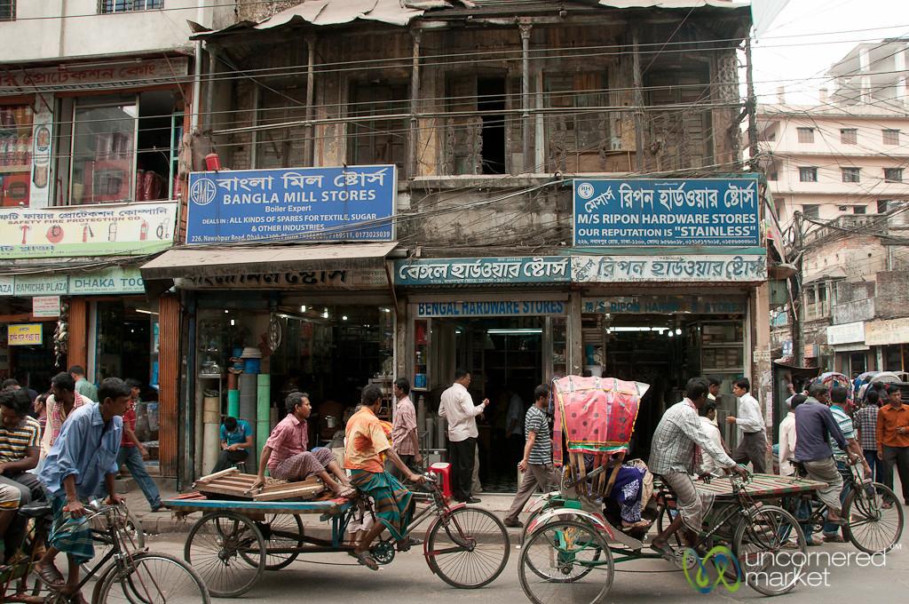 Human Powered Transport in Dhaka, Bangladesh