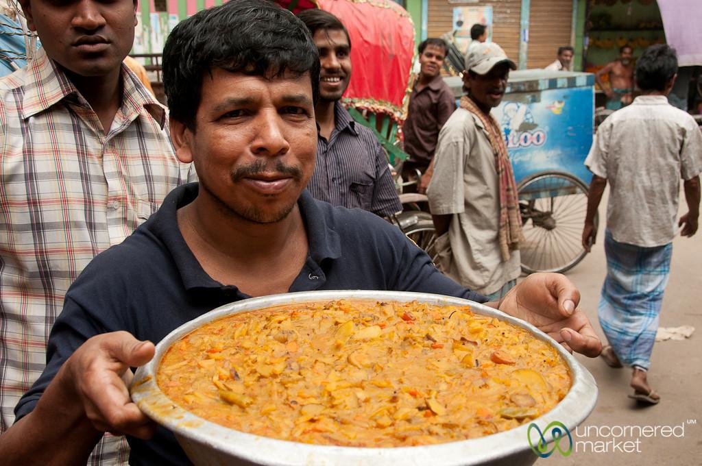 Large Bowl of Sabzi (vegetables) - Dhaka, Bangladesh