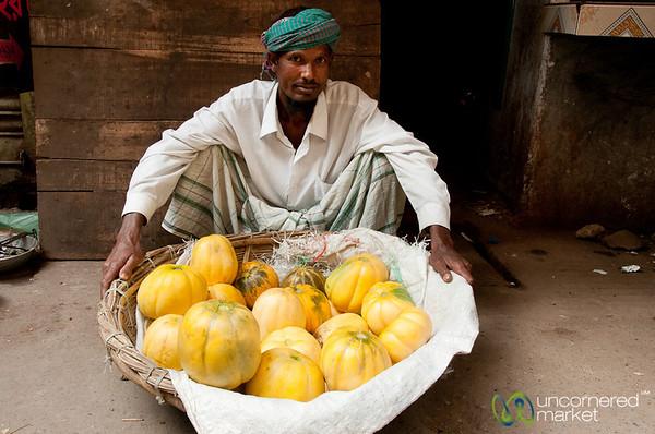 Melon Vendor on the Streets of Old Dhaka - Bangladesh