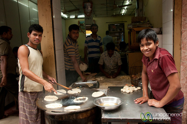 Time to Make the Parathas - Old Dhaka, Bangladesh