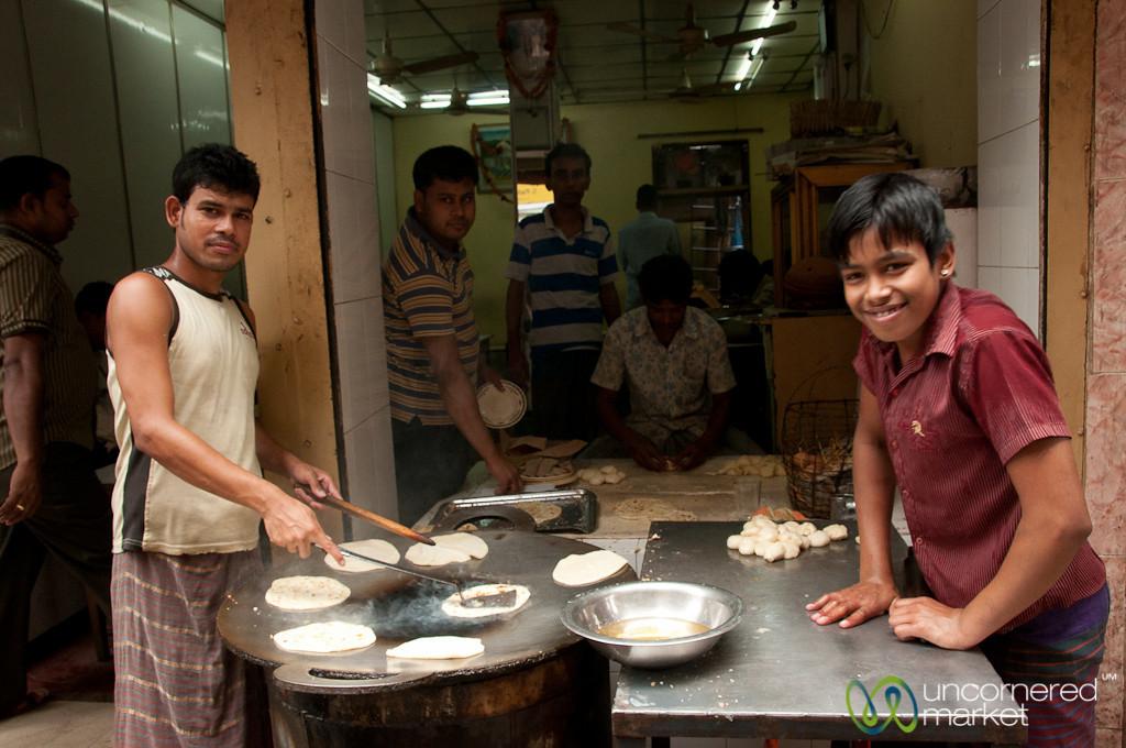 Time to Make the Parathas - Old Dhaka, Bangladesh