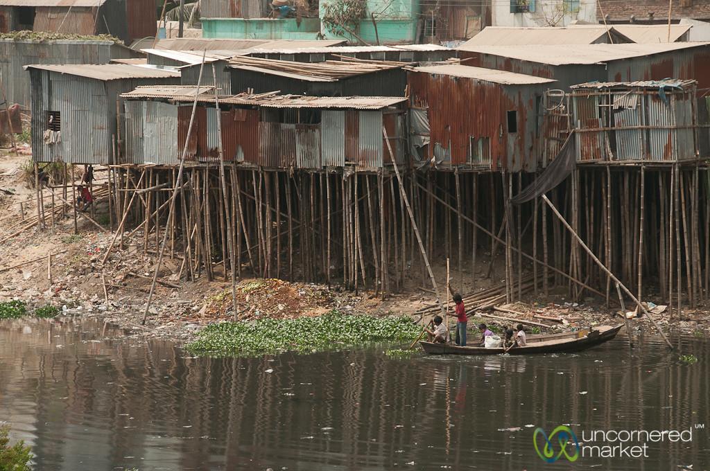 Living on Stilts in Old Dhaka - Bangladesh