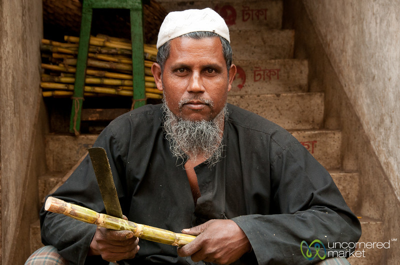 Don't Mess With Sugar Cane Vendor - Old Dhaka, Bangladesh