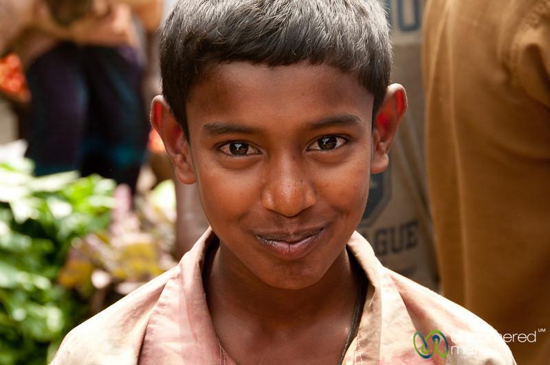 Boy with Sweet Smile - Srimongal Market, Bangladesh