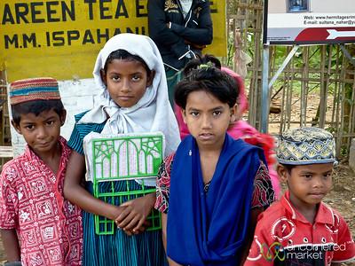 Indigenous Kids Outside Srimongal - Bangladesh