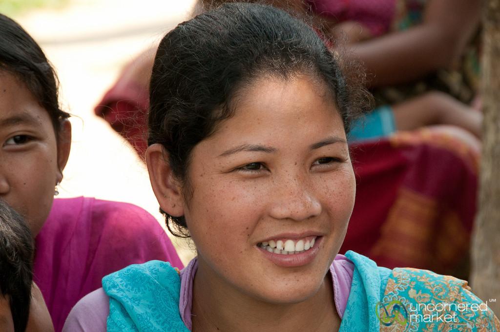 Garo Girl with Freckles -  Srimongal, Bangladesh