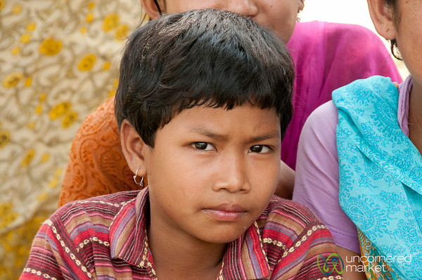 Serious Look from Garo Girl - Srimongal, Bangladesh