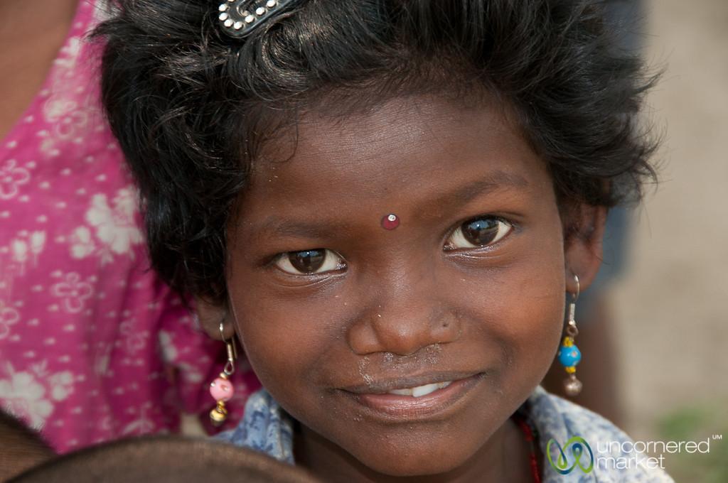 Curious Girl at Garo Village - Srimongal, Bangladesh