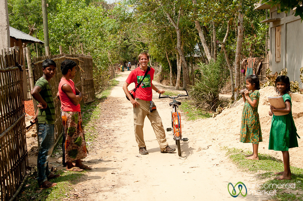 Dan in Bangladeshi Village - Outside Srimongal, Bangladesh