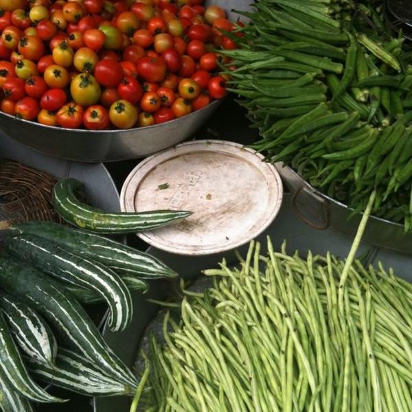 Market veggies in Srimongal, Bangladesh