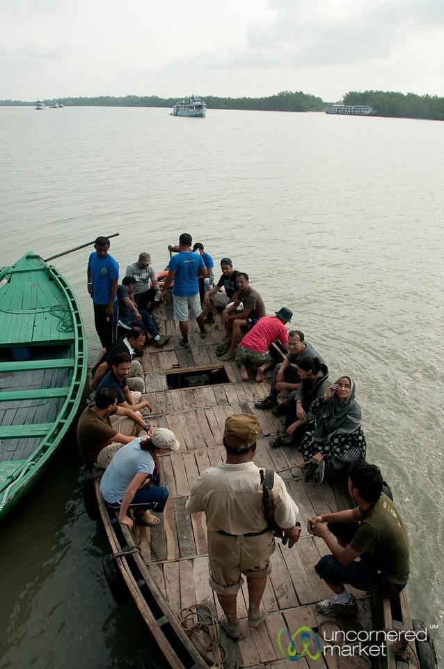 Boat Transfers - Sundarbans, Bangladesh