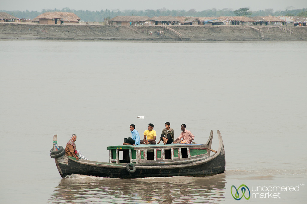 Boat Transport Near Khulna, Bangladesh