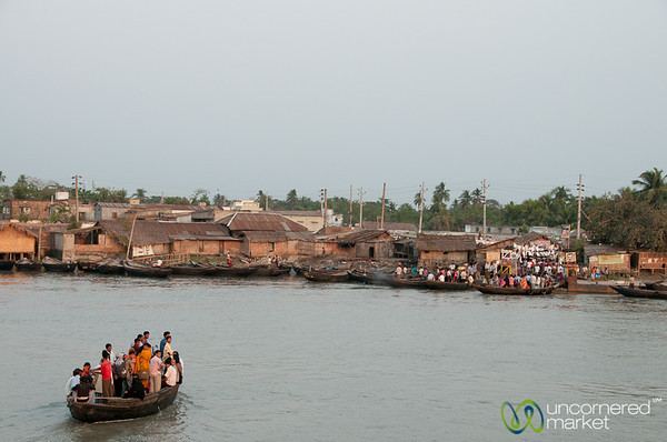 Transporting Passengers by Boat - Khulna, Bangladesh