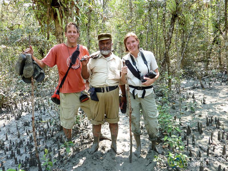 Trekking through the Mangrove Forests of the Sundarbans - Bangladesh