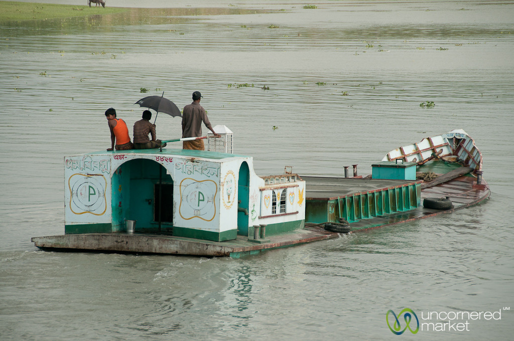 Boat Very Low to Water - Bangladesh