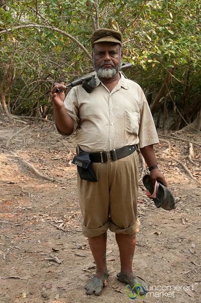 Guard in the Sundarbans - Bangladesh