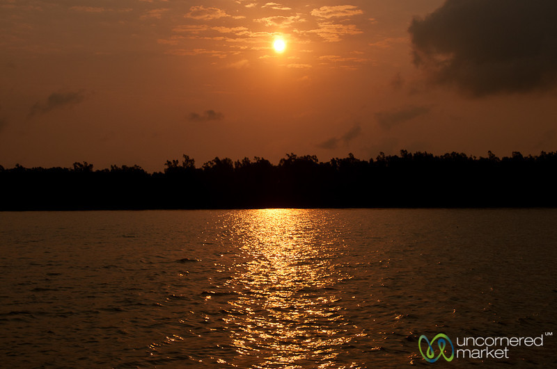 Sunrise in the Sundarbans - Bangladesh