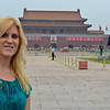 In Tiananmen Square heading over to the Forbidden City
