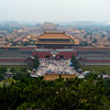 The massive size of the Forbidden City is best appreciated from above