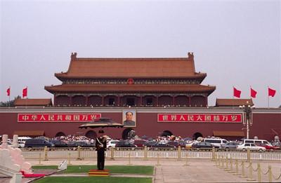 Forbidden City Gate in Tian'an Men Square, Beijing