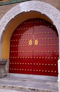 Door at Temple of Heaven