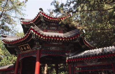 Decorative gate, Summer Palace