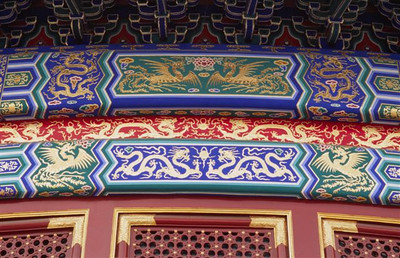 Hall of Prayer for Good Harvests, detail (1), Temple of Heaven