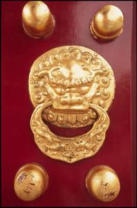 Door detail, Temple of Heaven