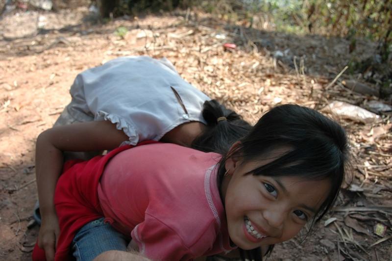 Girls - Luang Prabang, Laos