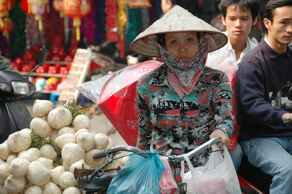 Woman Selling - Hanoi, Vietnam