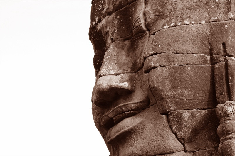 The Face of Bayon - Angkor, Cambodia