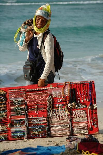 Jewelery Saleswoman - Haad Yao, Thailand