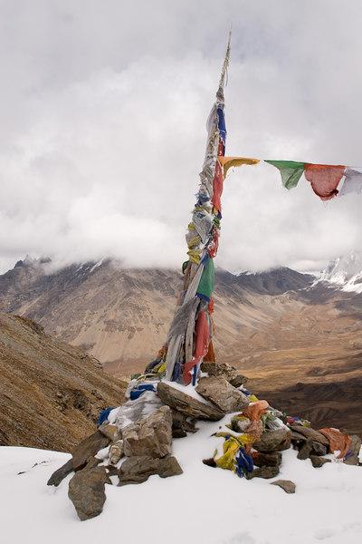 Chomolari trek - Bonte La 16,040 fe
