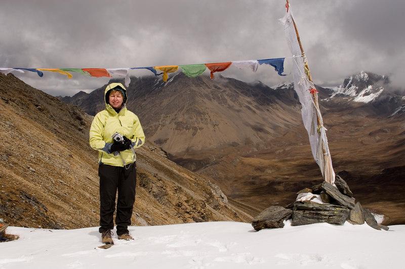 Chomolari trek - Bonte La 16,040 feet