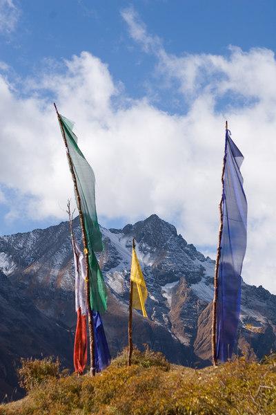 Chomolari trek