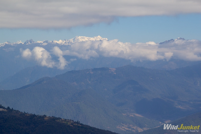 The tallest mountain in Bhutan