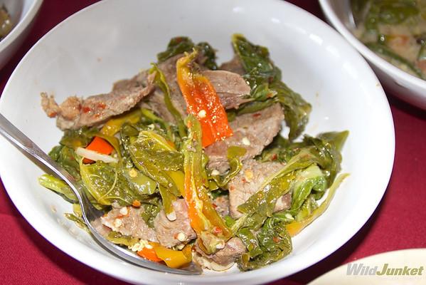 Ema datshi, Bhutan's national dish