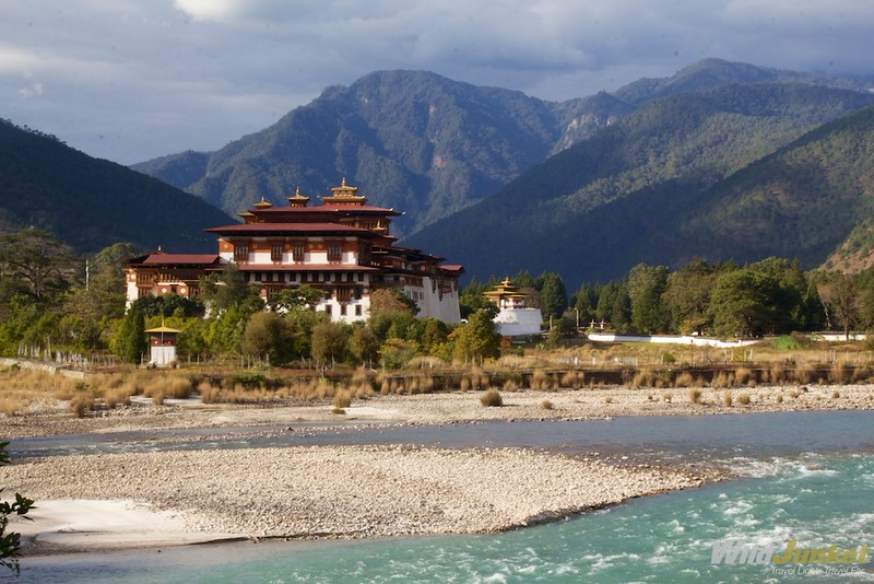 Punakha Dzong by the river
