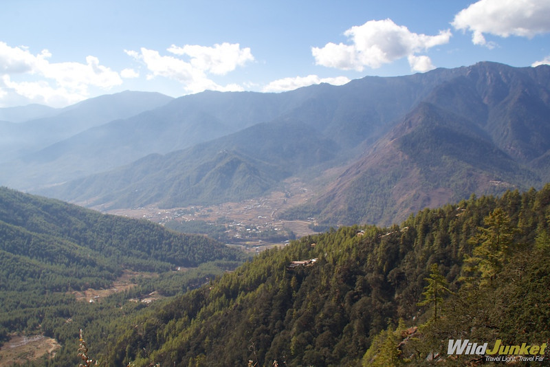 View from Taktshang Goemba