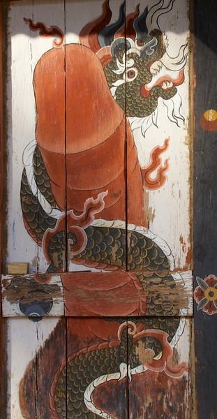 Phallus with dragon