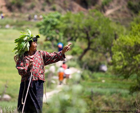 Villager near Punakha