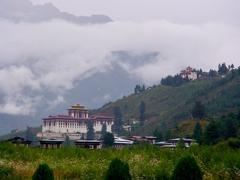 Paro Dzong (view from airport)