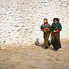 Bhutanese schoolgirls