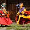 Two demon dancers