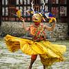 Whirling dancer