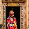 Masked dance entrance