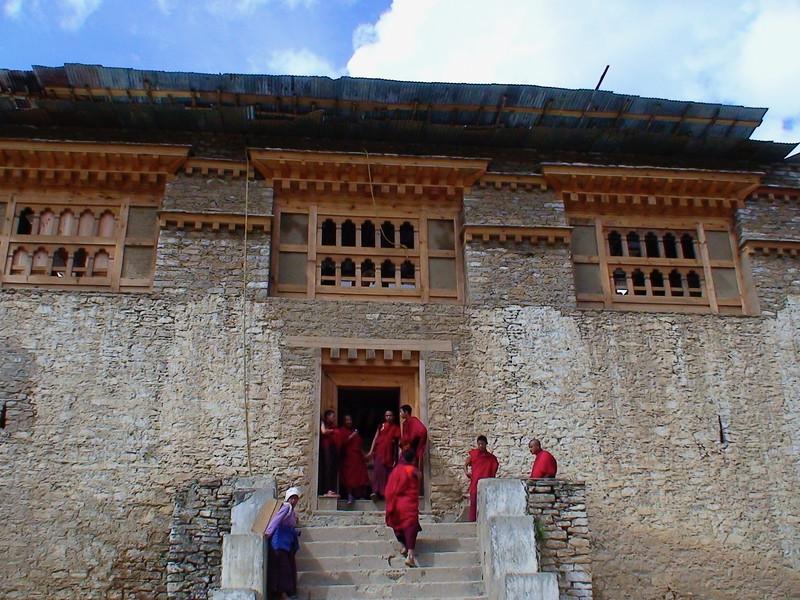 Oldest monastery, Simthoka Dzong, 1629