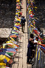 Bridge and Prayer Flags