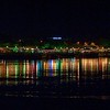Night View, Waterfront, Kuching City, Sarawak, Borneo, Malaysia,