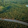 Aerial Kuching, Sarawak, Borneo, Malaysia